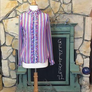 Boden Katherine Shirt Multi Stripe
